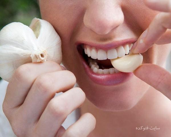روش های قطع و از بین بردن بوی سیر از دهان