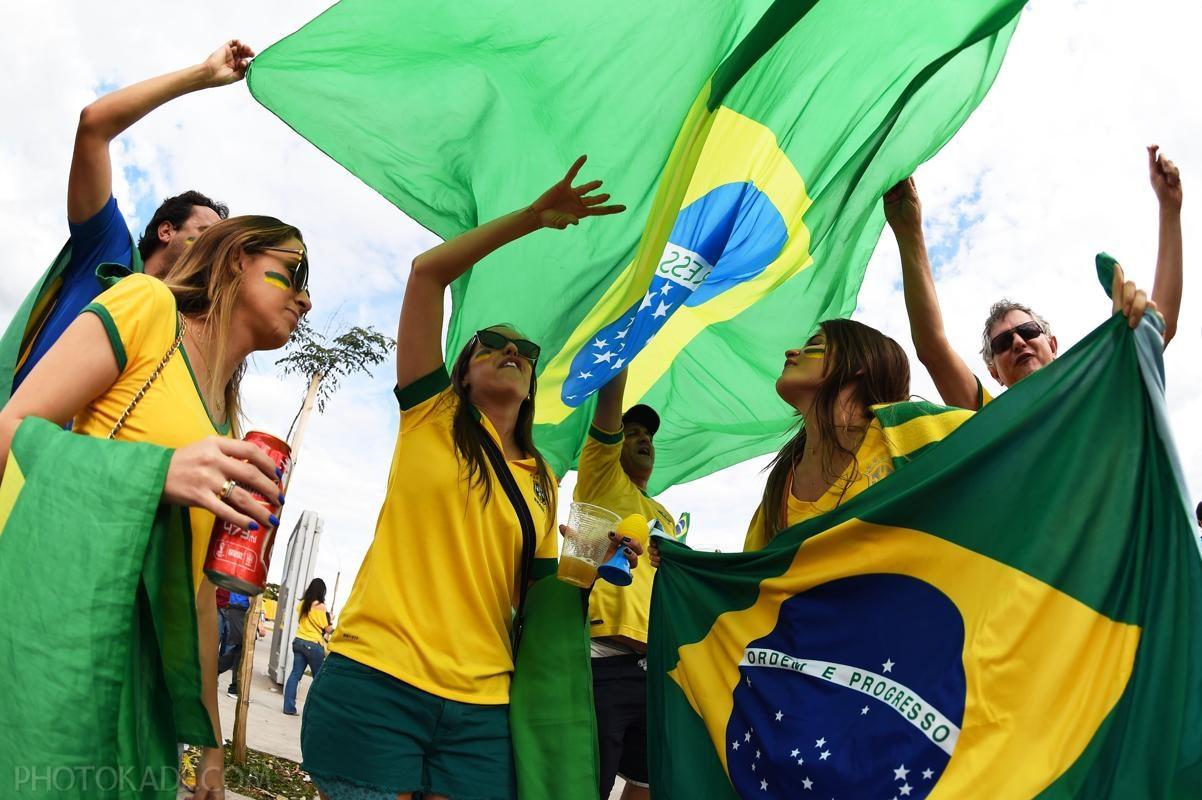 عکس های خفن و هات از جام جهانی,عکس داغ تماشاگران برزیلی و المان