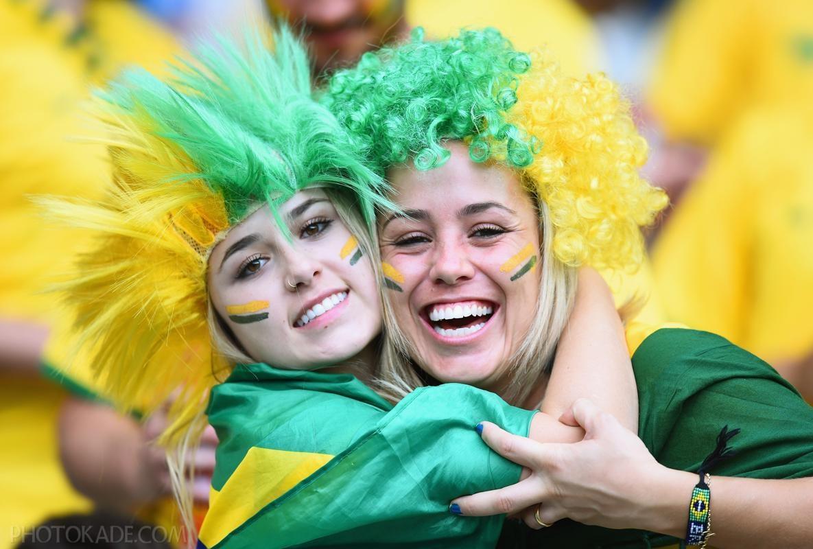 دختران ناز برزیلی جام جهانی
