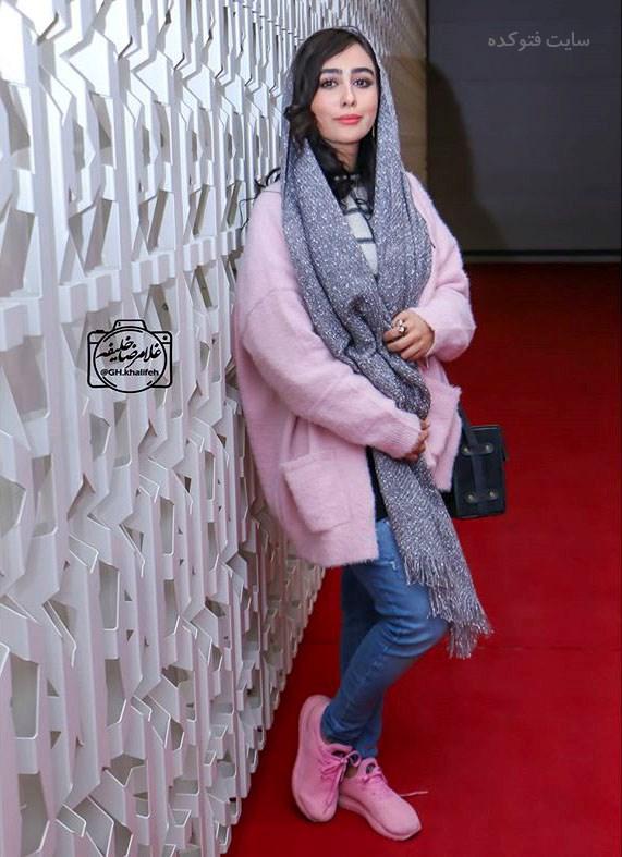 مدل مانتو ستاره حسینی در زمستان 96