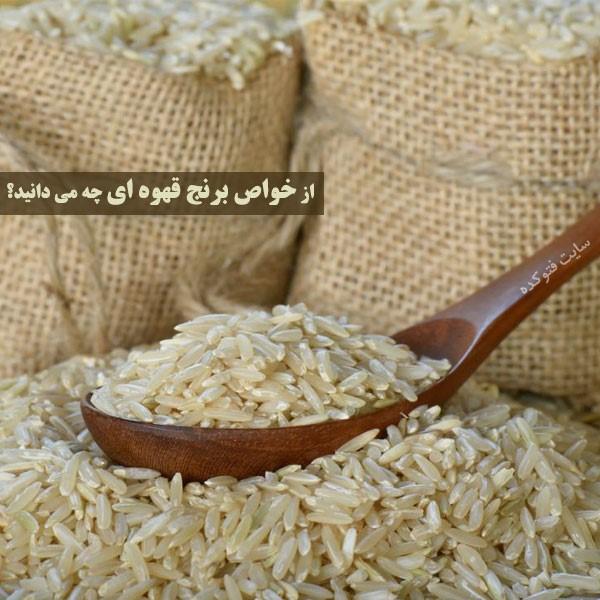 برنج قهوه ای برای بدنسازی چه خواصی دارد