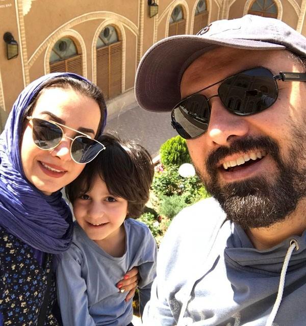 بیوگرافی برزو ارجمند و همسرش پارمیس زند + پسرش جانیار با بیوگرافی کامل