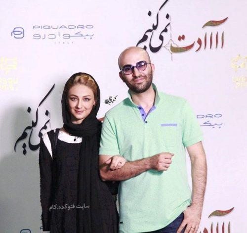 عکس جدید از ویدا جوان و همسرش آیلار تهرانی