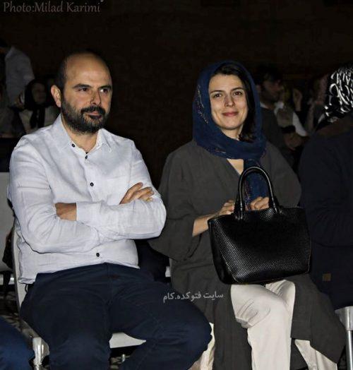 عکس علی مصفا و همسرش لیلا حاتمی