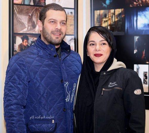 عکس پژمان بازغی و همسرش