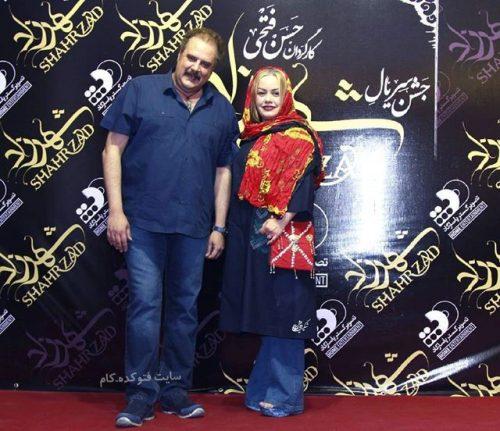 عکس دیده نشده از هومن برق نورد و همسرش