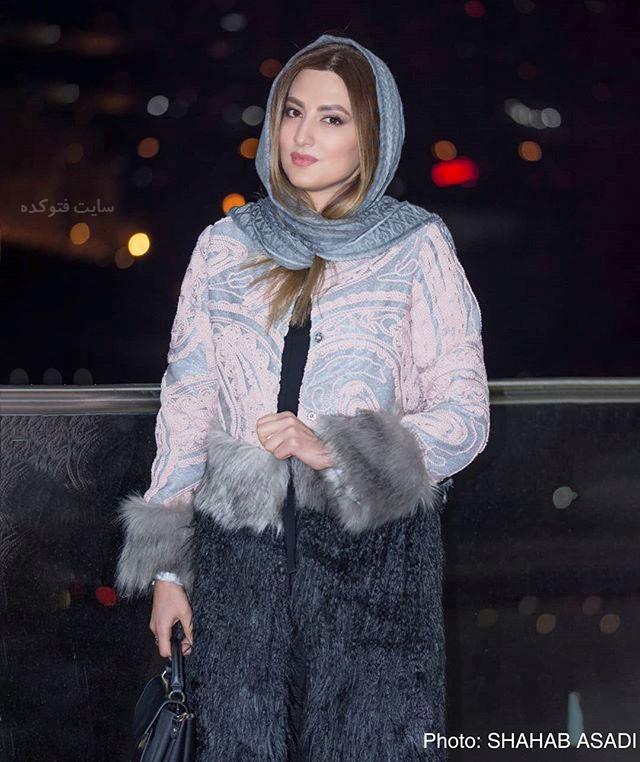 مدل مانتو سمیرا حسینی در جشنوار فجر 96