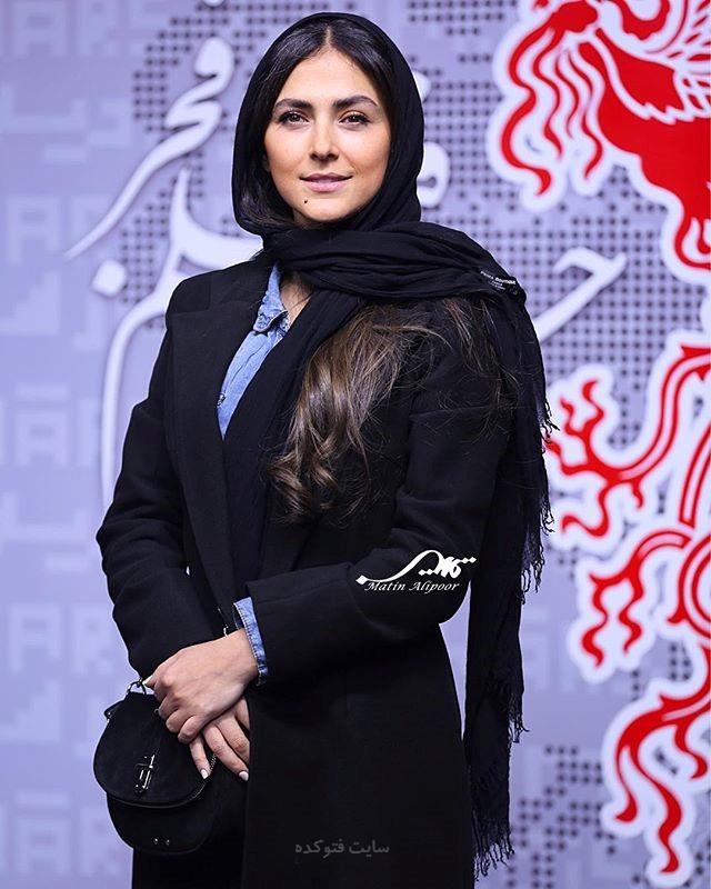 مدل مانتو هدی زین العابدین در جشنوار فجر 96