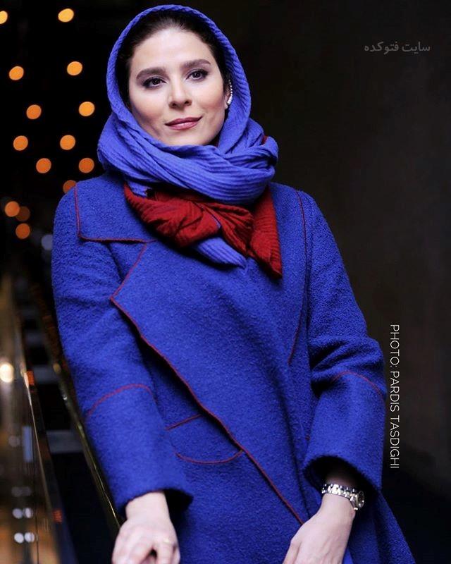 مدل مانتو سحر دولتشاهی در جشنوار فجر 96