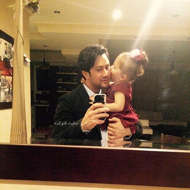 عکس شاهرخ استخری و دخترش