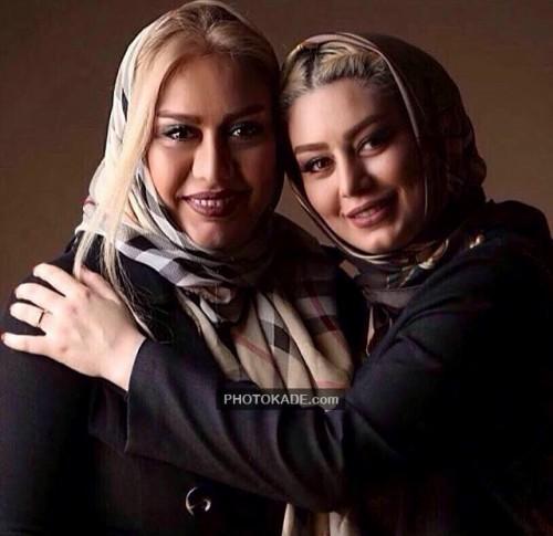 عکس جدید سحر قریشی و مادرش
