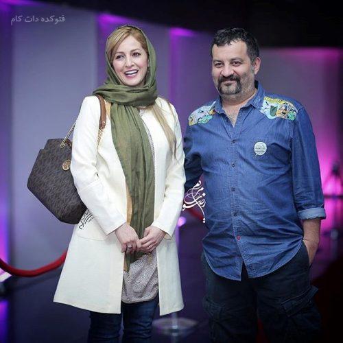 عکس شقایق دهقان و همسرش مهراب قاسم خانی