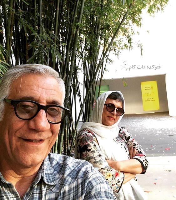 عکس رویا تیموریان و همسرش مسعود رایگان
