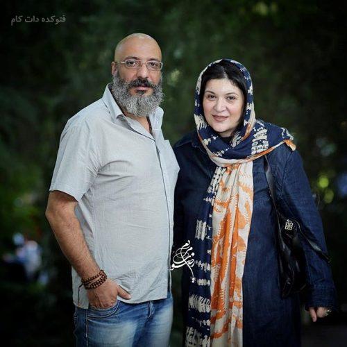 عکس ریما رامین فر و همسرش امیر جعفری