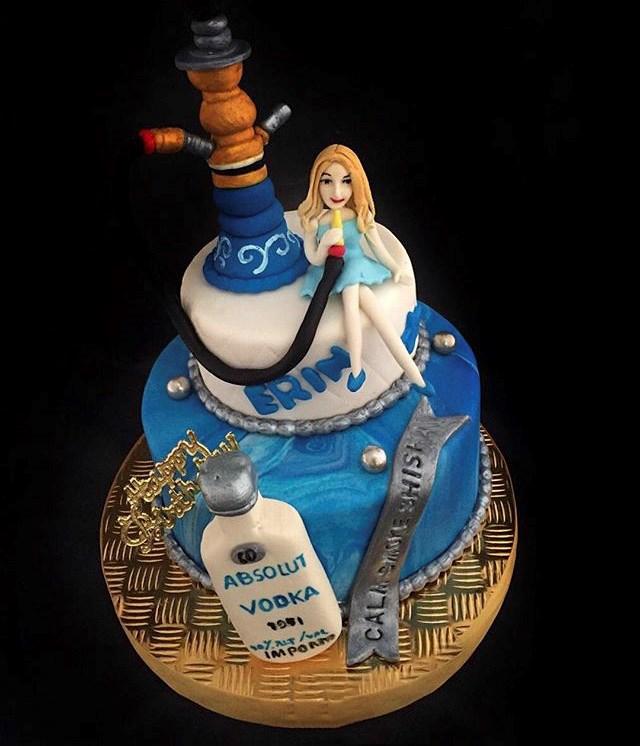 کیک تولد دخترانه 2018 فانتزی و شیک