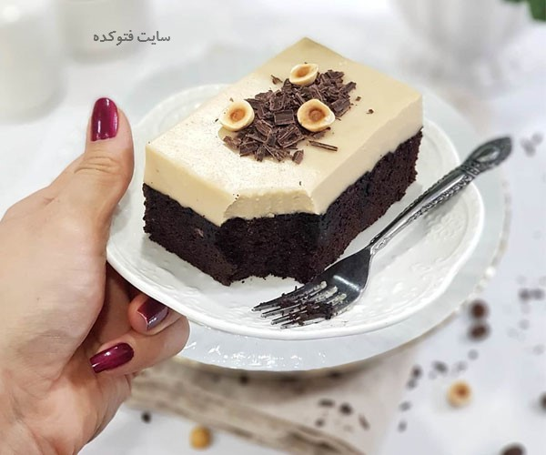 طرز تهیه کیک شکلات کافی شاپی