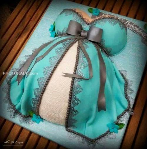 آموزش تزیین کیک تولد,کیک حاملگی,کیک تولد حاملگی زیبا با طرح زیبا,کیک حاملگی خوشگل و قشنگ,مدل های کیک تولد رای زن باردار,مدل های کیک تولد برای ز حامله,کیک حامله بودن