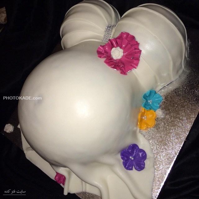 کیک تولد های بارداری با طرحی جالب