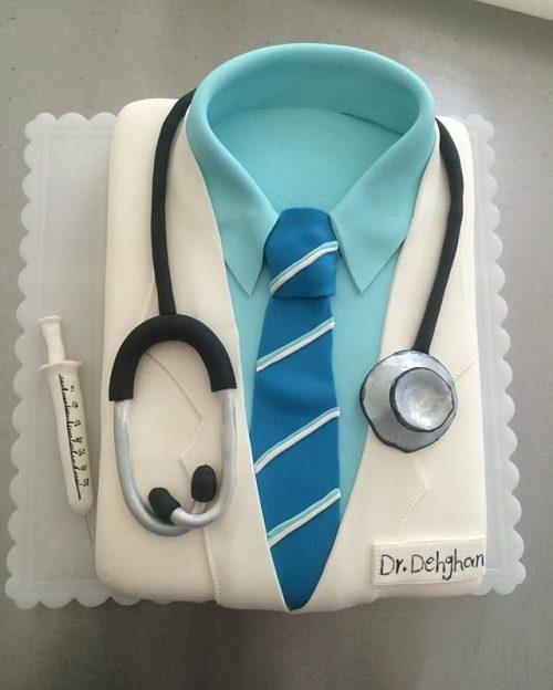 عکس کیک روز پزشک