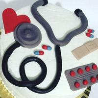 کیک روز پزشک + گالری عکس انواع مدل کیک پزشکی