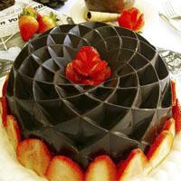 کیک با رویه شکلاتی خوشگل و خوشمزه