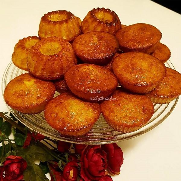 طرز تهیه کیک شیرازی شربتی