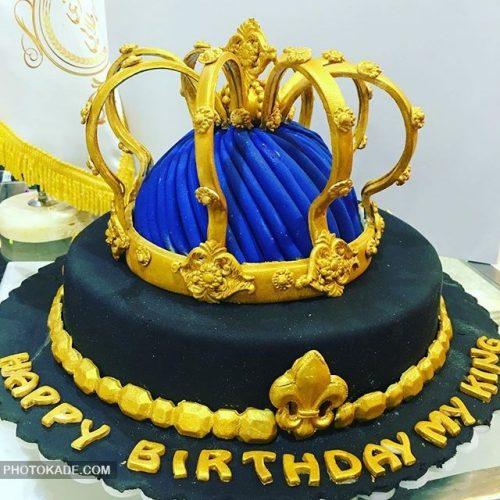 مدل کیک تولد تاج پادشاهی