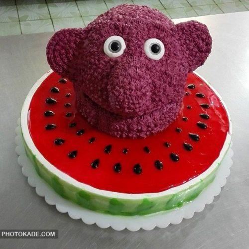 مدل کیک تولد جناب خان