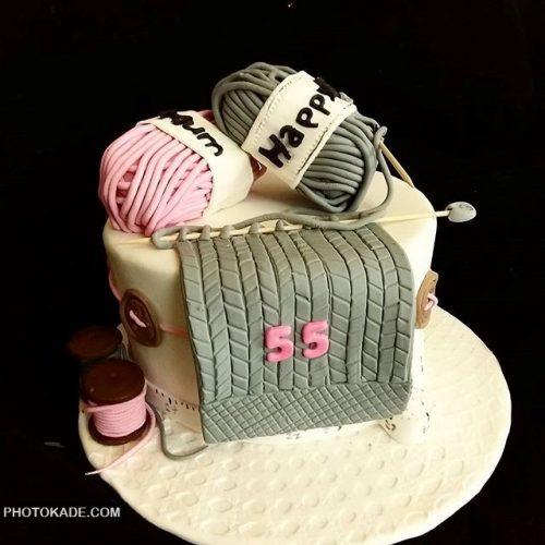 مدل کیک تولد برای مامان