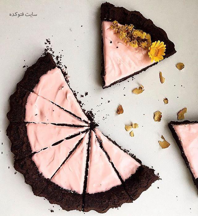 عکس کیک شکلاتی شف طیبه + طرز تهیه