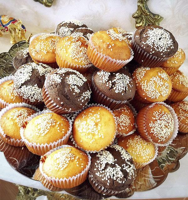 عکس و آموزش طرز تهیه کیک یزدی