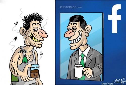 تصاویر کاریکاتوری مفهومی جالب