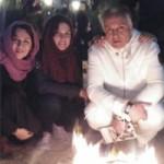 عکس بازیگران در مراسم چهارشنبه سوری