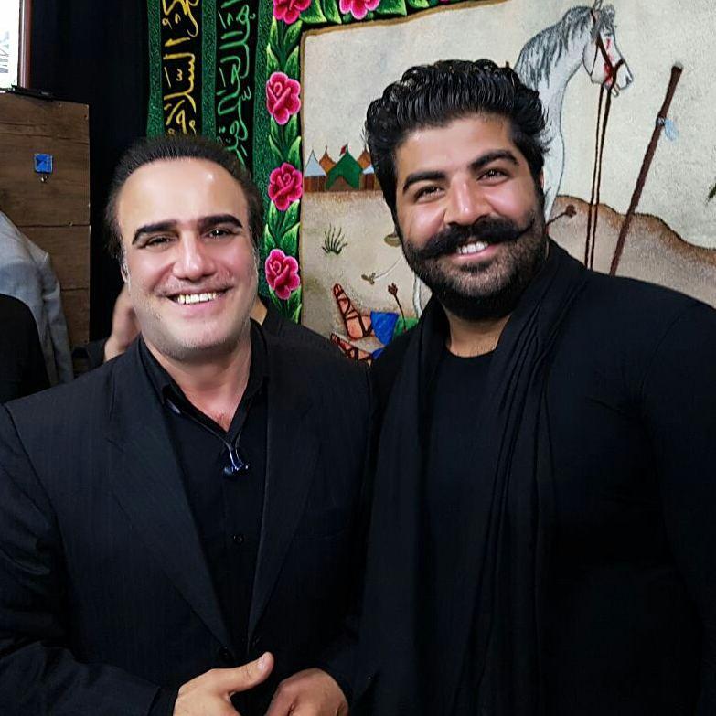 عکس چنگیز حبیبیان و بهنام بانی خوانندگان ایرانی + بیوگرافی