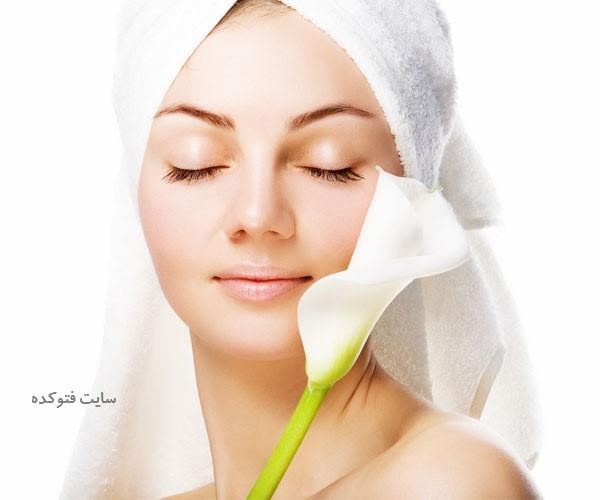 درمان پوست چرب صورت با طب سنتی