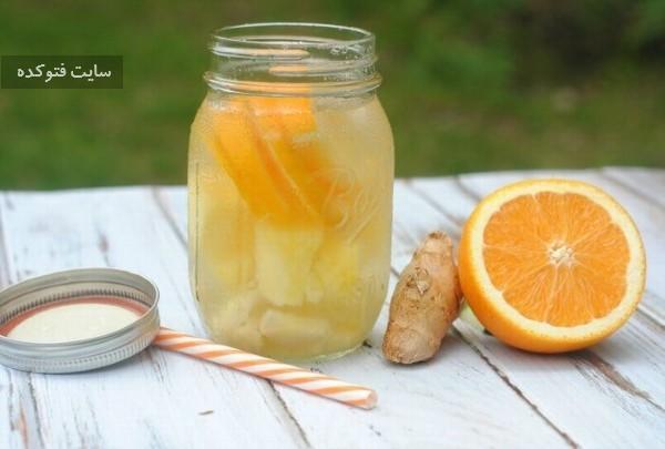 نوشیدنی چربی سوز لیموناد برای چربی سوزی شکم و پهلوها
