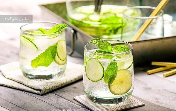 نعنا از نوشیدنی برای لاغری