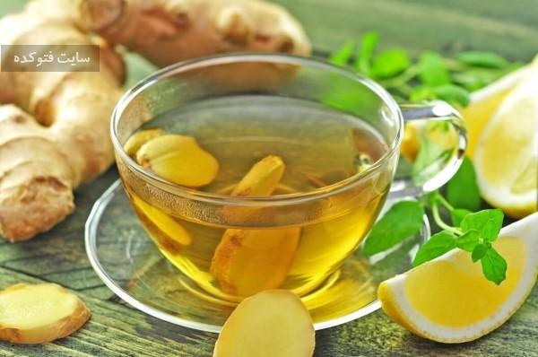 نوشیدنی زنجبیل لیمو برای لاغری و کاهش وزن