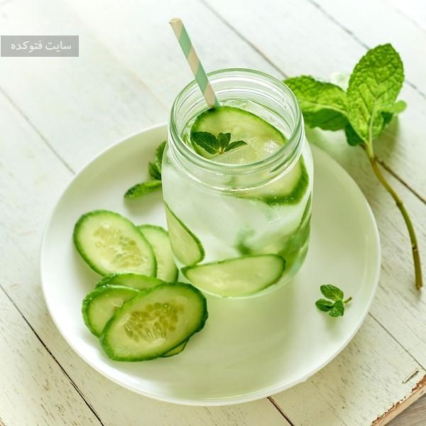نوشیدنی کلاسیک خیار برای لاغری