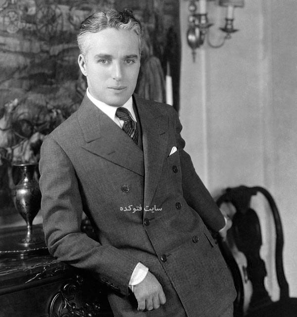 عکس جوانی Charlie Chaplin