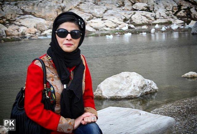 عکس مریم حیدرزاده ترانه سرا و نویسنده