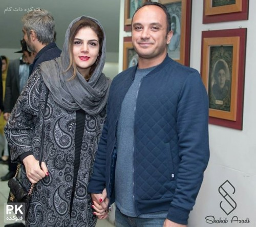 عکس جدید احسان کرمی و همسرش مجری تلویزیون