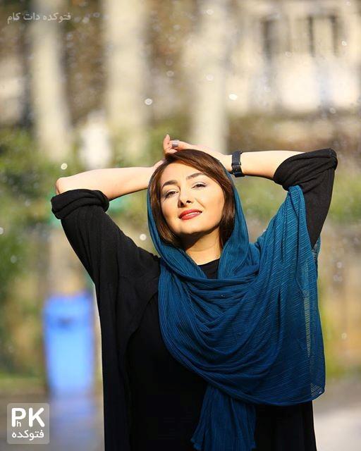 عکس جدید حانیه توسلی بازیگر زن