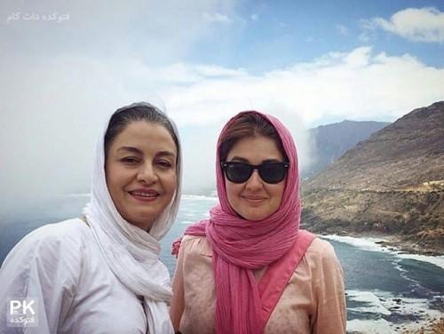 عکس گلوریا هاردی و مریلا زارعی بازیگران زن ایرانی