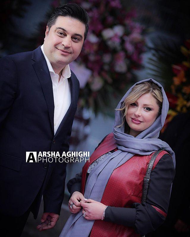 عکس نیوشا ضیغمی و همسرش اسفند 96