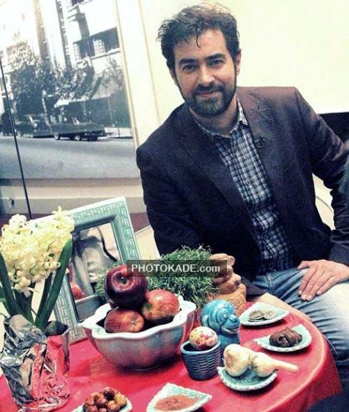 عکس شهاب حسینی کنار سفره هفت سین عید نوروز 95  chehreha-7sin95-photokade (4)