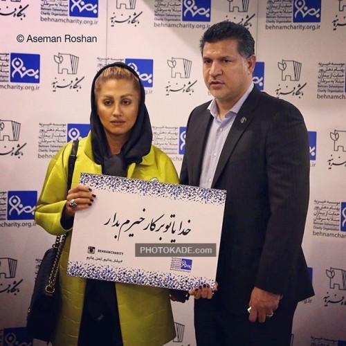عکس جدید علی دایی و همسر دومش