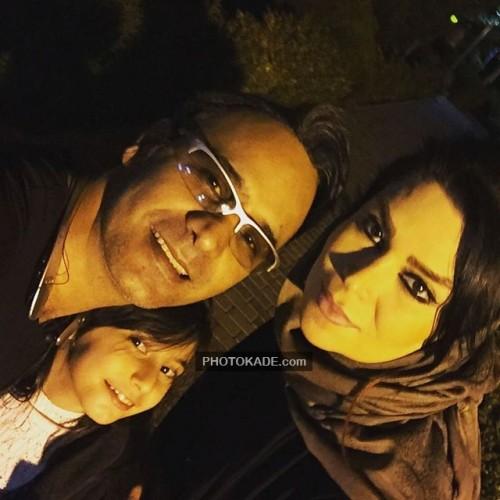 عکس جدید شهرام شکوهی و همسر و پسرش