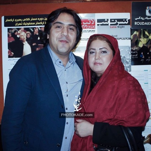 عکس جدید مانی رهنما و همسرش