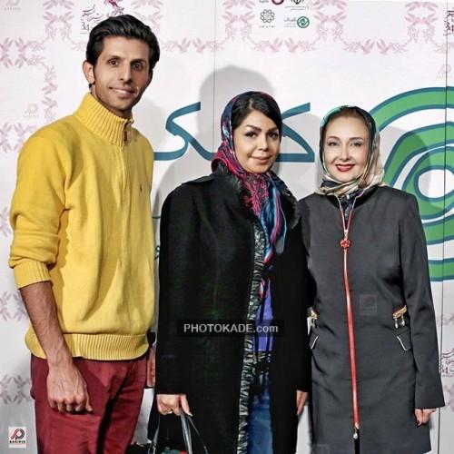عکس جدید وحید طالبلو و همسرش در کنار کتایون ریاحی
